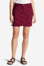 Purple Skirts for Women: Women's Horizon Skort - Print