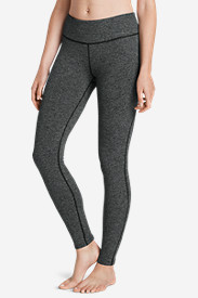 Polyester Leggings for Women: Women's Movement Leggings - Jacquard