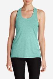 Green Tops for Women: Women's Resolution Layer Tank Top