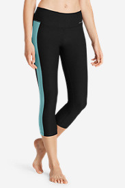 Stretch Capri Pants for Women: Women's Movement Lead The Way Capris
