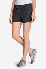 Plus Size Shorts for Women: Women's Horizon Pull-On Shorts - Solid
