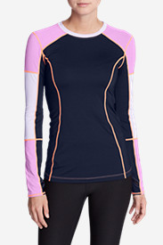Women's Tidal Rash Guard Top - Colorblock