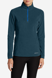 Green Petite Pullovers for Women: Women's Quest 1/4-Zip Pullover