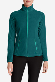 Green Petite Outerwear for Women: Women's Quest Full-Zip Jacket