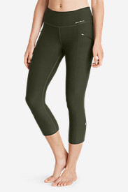 Stretch Capri Pants for Women: Women's Trail Tight Capris