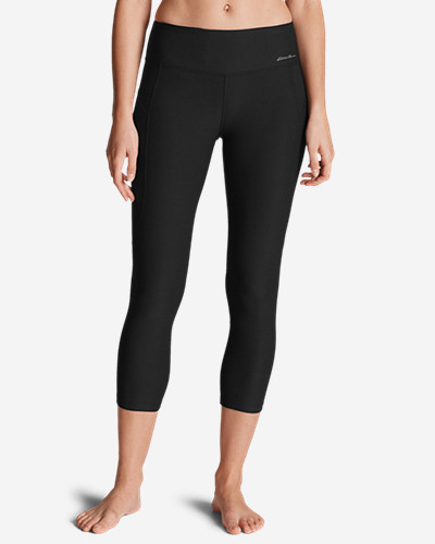 Eddie Bauer Movement Mesh Block Capris