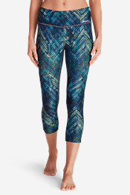 Women's Movement Capris - Print