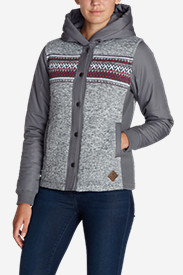 Winter Coats: Women's Radiator Westerly Jacket - Placed Stripe