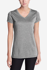 Women's Resolution V-Neck Shirt - Striped