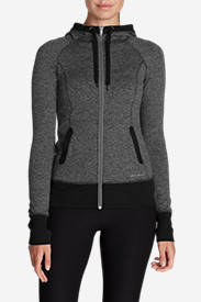 Plus Size Hoodies for Women: Women's Movement Jacquard Hoodie