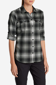Flannel Tops for Women: Women's Eddie Bauer Expedition Flannel Shirt