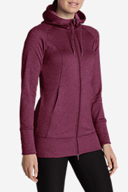 Insulated Jackets: Women's Big Climb Long Hoodie