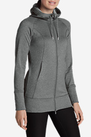 Winter Coats: Women's Big Climb Long Hoodie