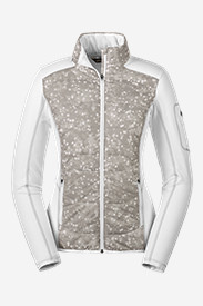 Insulated Jackets: Women's IgniteLite Hybrid Jacket - Print