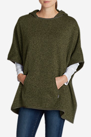 Women's Radiator Fleece Poncho