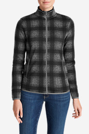 Jackets: Women's Radiator Fleece Full Zip Jacket - Plaid