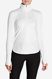 Insulated Tops for Women: Women's Crossover Fleece 1/4-Zip