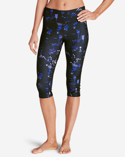 Eddie Bauer Movement Crop Leggings - Print