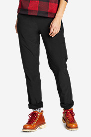 Women's Polar Fleece-Lined Pull-On Pants