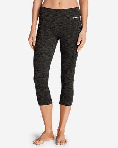 Eddie Bauer Trail Tight Capris - 2D Heather