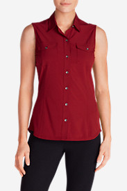 Women's Departure Sleeveless Shirt