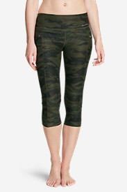 Women's Trail Tight Capris - Print