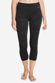 Women's Movement Capris - Jacquard