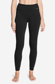 Women's Crossover Fleece Leggings - Colorblock