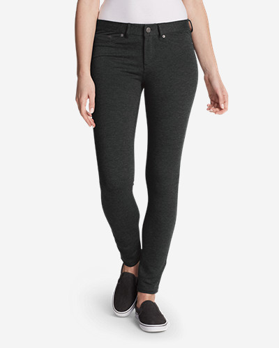Women's Passenger Ponte 5 Pocket Pants by Eddie Bauer