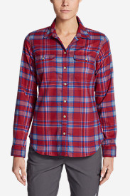 Women's Eddie Bauer Expedition Flex Flannel Shirt