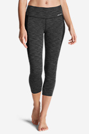 Women's Movement Blocked Capris - 2D Heather