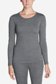Women's Midweight FreeDry® Merino Hybrid Baselayer Long-Sleeve Crew