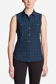 Women's Departure Sleeveless Shirt - Print