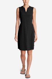 Women's Departure Split-Neck Dress