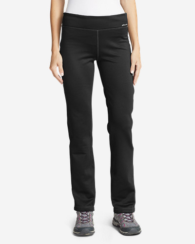 Insulated Pants for Women: Women's Stretch Fleece Pants