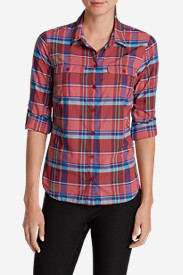 Petite Tops for Women: Women's Mountain Long-Sleeve Shirt