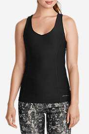 Comfortable Tops for Women: Women's Movement Racerback Tank Top - Solid