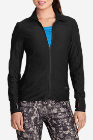 Comfortable Tops for Women: Women's Movement Jacket - Solid