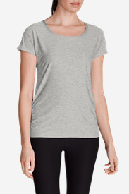 Women's Infinity Scoop Ruched T-Shirt