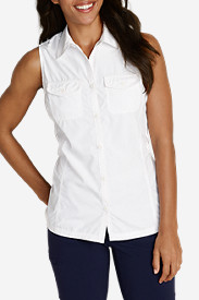 Comfortable Tops for Women: Women's Mountain Sleeveless Shirt