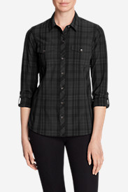 Women's Departure Long-Sleeve Shirt - Plaid