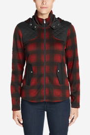 Women's Radiator Fleece Cirrus Jacket - Plaid