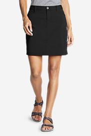 Black Petite Skirts for Women: Women's Horizon Skort