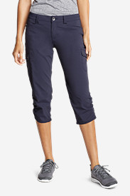 Nylon Pants for Women: Women's Horizon Capris
