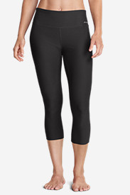 Women's Movement Capris - Solid