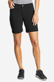 Black Petite Shorts for Women: Women's Horizon Shorts