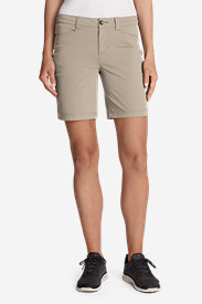 White Petite Shorts for Women: Women's Horizon Shorts