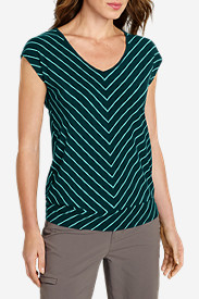 Women's Gradient Dolman-Sleeve T-Shirt