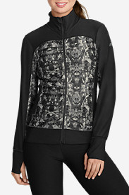 Winter Coats: Women's Movement Jacket - Print