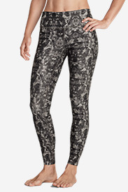 Polyester Leggings for Women: Women's Movement Leggings - Print